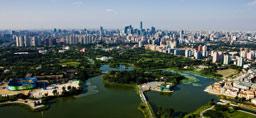 俯瞰朝阳公园