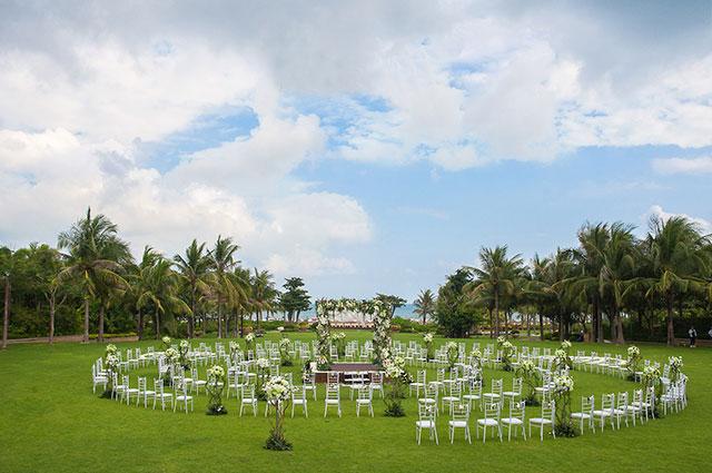 海南洲际户外婚礼