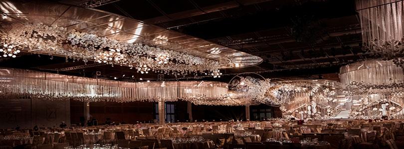 耗时72小时在4000㎡的展馆,做了一场2000人的婚礼!