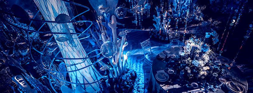 """""""邂逅秘境 真爱藏于深海""""桔钓沙莱华度假酒店举办婚礼圣典"""